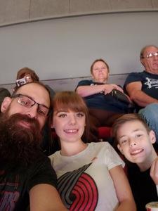Roy attended Portland Trail Blazers vs. Minnesota Timberwolves - NBA on Nov 4th 2018 via VetTix