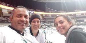 Andres attended San Jose Barracuda vs. Stockton Heat - AHL on Jan 13th 2019 via VetTix