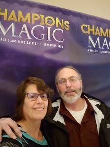 Wayne attended Champions of Magic - Denver on Nov 17th 2018 via VetTix