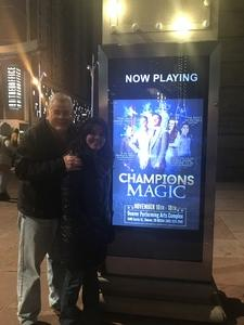 Jimmy attended Champions of Magic - Denver on Nov 17th 2018 via VetTix