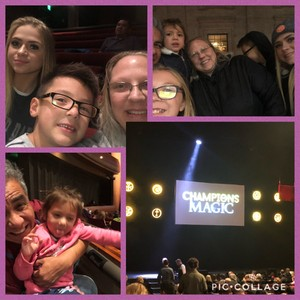 Christine attended Champions of Magic - Denver on Nov 17th 2018 via VetTix