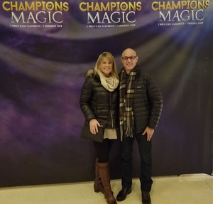 Jim attended Champions of Magic - Denver on Nov 17th 2018 via VetTix