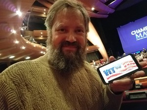 Chuck attended Champions of Magic - Denver on Nov 17th 2018 via VetTix