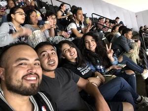 Sergio attended San Antonio Spurs vs Orlando Magic - NBA on Nov 4th 2018 via VetTix