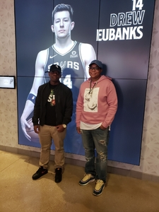 Kermetris attended San Antonio Spurs vs Orlando Magic - NBA on Nov 4th 2018 via VetTix