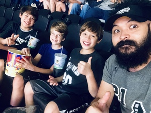 Glenmark attended San Antonio Spurs vs Orlando Magic - NBA on Nov 4th 2018 via VetTix