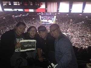 Melissa Estrada attended San Antonio Spurs vs Orlando Magic - NBA on Nov 4th 2018 via VetTix