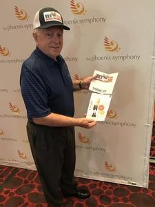 Larry attended The Phoenix Symphony - the Second City Guide to the Symphony on Nov 11th 2018 via VetTix
