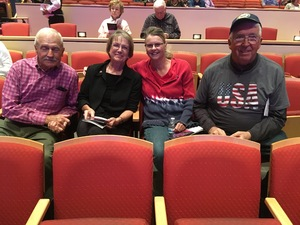 Terry attended The Phoenix Symphony - the Second City Guide to the Symphony on Nov 11th 2018 via VetTix