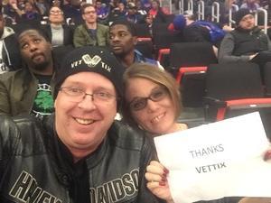 Daniel attended Detroit Pistons vs. Phoenix Suns - NBA on Nov 25th 2018 via VetTix