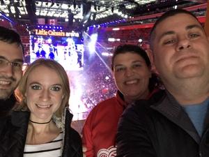 Frank attended Detroit Pistons vs. Phoenix Suns - NBA on Nov 25th 2018 via VetTix