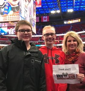 Kay attended Detroit Pistons vs. Phoenix Suns - NBA on Nov 25th 2018 via VetTix