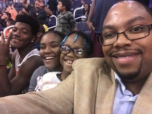Clarence attended Phoenix Suns vs. Memphis Grizzlies - NBA on Nov 4th 2018 via VetTix