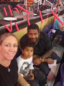 ISIDRO attended Phoenix Suns vs. Memphis Grizzlies - NBA on Nov 4th 2018 via VetTix