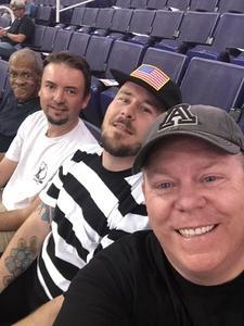 Wade attended Phoenix Suns vs. Memphis Grizzlies - NBA on Nov 4th 2018 via VetTix