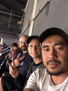 Jake attended Phoenix Suns vs. Memphis Grizzlies - NBA on Nov 4th 2018 via VetTix