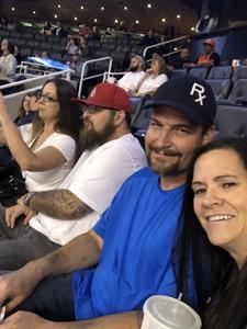 Tina attended Phoenix Suns vs. Memphis Grizzlies - NBA on Nov 4th 2018 via VetTix