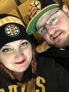 Justin attended Boston Bruins vs. Arizona Coyotes - NHL on Dec 11th 2018 via VetTix