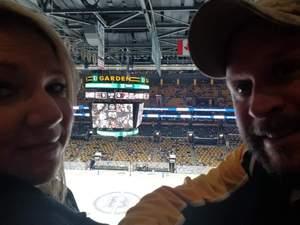 Jerome attended Boston Bruins vs. Arizona Coyotes - NHL on Dec 11th 2018 via VetTix