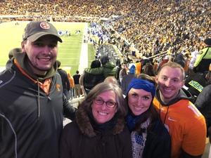 Caleb attended University of Tennessee Vols vs. University of Kentucky Wildcats - NCAA Football on Nov 10th 2018 via VetTix