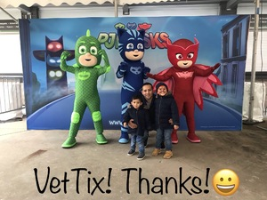 Brett L. attended Our 23rd Annual Children's Festival is This Weekend, Nov 10th and 11th - Tickets Are Good for One Day, Pick Which Day is Best for You. on Nov 10th 2018 via VetTix