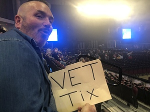 Joe attended Cole Swindell and Dustin Lynch: Reason to Drink Another Tour - Country on Dec 13th 2018 via VetTix
