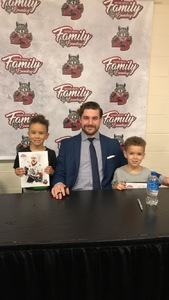 Caitlyn attended Chicago Wolves vs. Texas Stars - AHL - Special Instructions * See Notes on Dec 2nd 2018 via VetTix