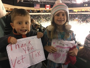 Dana attended Texas Stars vs San Antonio Rampage - Military Appreciation Game - AHL on Nov 10th 2018 via VetTix