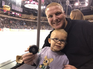 Justin attended Texas Stars vs San Antonio Rampage - Military Appreciation Game - AHL on Nov 10th 2018 via VetTix