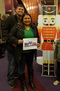 Billy attended The Nutcracker Performed By the Virginia National Ballet on Nov 23rd 2018 via VetTix