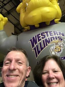 Robert attended Western Illinois University Fighting Leathernecks vs. Eastern Illinois University - NCAA Men's Basketball on Dec 8th 2018 via VetTix