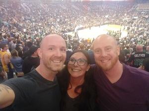 Patrick attended Phoenix Suns vs. Boston Celtics - NBA on Nov 8th 2018 via VetTix