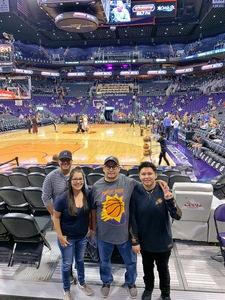 Marvin attended Phoenix Suns vs. Boston Celtics - NBA on Nov 8th 2018 via VetTix