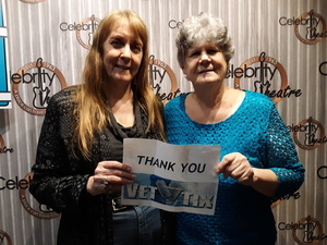 Diane and Peggy attended An Evening of Spirit With James Van Praagh on Nov 9th 2018 via VetTix
