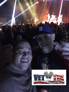 Kristian attended Eve 6 - Alternative Rock on Dec 6th 2018 via VetTix