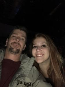 David attended Josh Groban: Bridges Tour W/very Special Guest Idina Menzel - Adult Contemporary on Nov 13th 2018 via VetTix