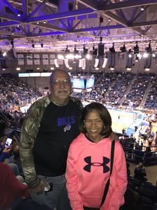 Donald attended University at Buffalo Bulls vs. Southern Illinois Salukis - NCAA Men's Basketball on Dec 15th 2018 via VetTix