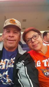 Paul attended Phoenix Suns vs. San Antonio Spurs - NBA on Nov 14th 2018 via VetTix