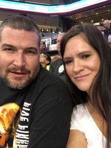 Tina attended Phoenix Suns vs. San Antonio Spurs - NBA on Nov 14th 2018 via VetTix