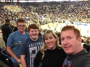 Trace attended Phoenix Suns vs. San Antonio Spurs - NBA on Nov 14th 2018 via VetTix