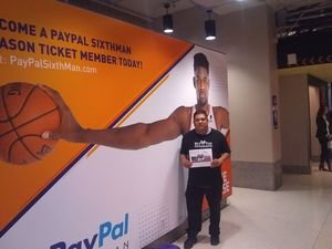 Pedro attended Phoenix Suns vs. San Antonio Spurs - NBA on Nov 14th 2018 via VetTix