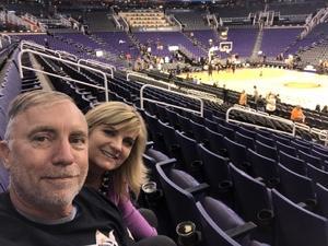 Craig attended Phoenix Suns vs. San Antonio Spurs - NBA on Nov 14th 2018 via VetTix