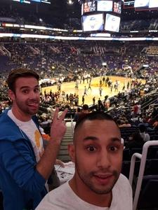 Joshua attended Phoenix Suns vs. San Antonio Spurs - NBA on Nov 14th 2018 via VetTix