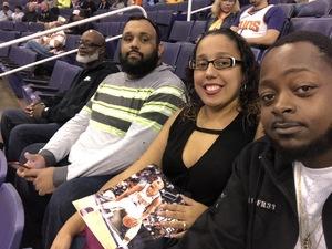 Rafael attended Phoenix Suns vs. San Antonio Spurs - NBA on Nov 14th 2018 via VetTix