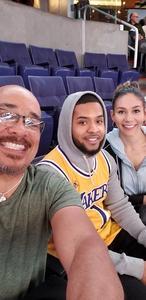 Allende attended Phoenix Suns vs. San Antonio Spurs - NBA on Nov 14th 2018 via VetTix