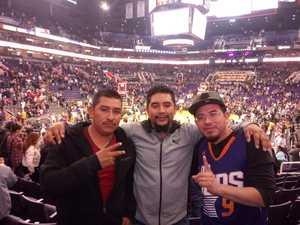 Sammy attended Phoenix Suns vs. San Antonio Spurs - NBA on Nov 14th 2018 via VetTix
