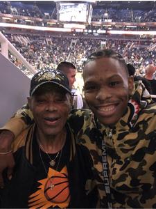 Roscoe attended Phoenix Suns vs. San Antonio Spurs - NBA on Nov 14th 2018 via VetTix