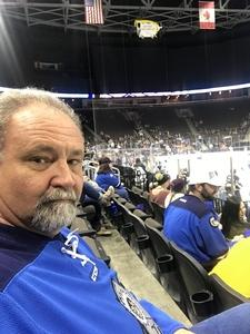 John attended Jacksonville Icemen vs. Orlando Solar Bears - ECHL on Dec 12th 2018 via VetTix