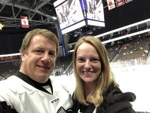 Edward attended Jacksonville Icemen vs. Orlando Solar Bears - ECHL on Dec 12th 2018 via VetTix