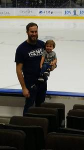 Cody attended Jacksonville Icemen vs. Florida Everblades - ECHL on Dec 15th 2018 via VetTix